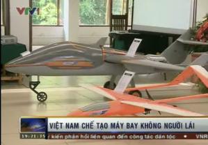 Việt Nam chế tạo thành công máy bay không người lái